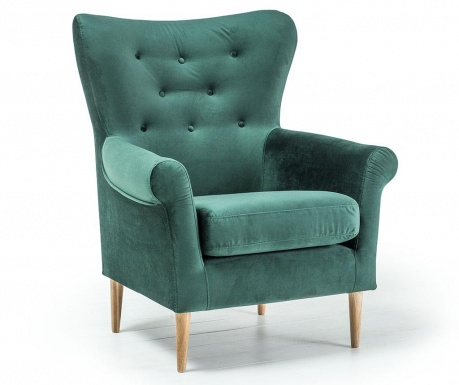 Fotelj Amelie Dark Green