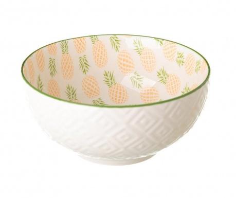 Set 2 zdjele Pineapple Pink 600 ml
