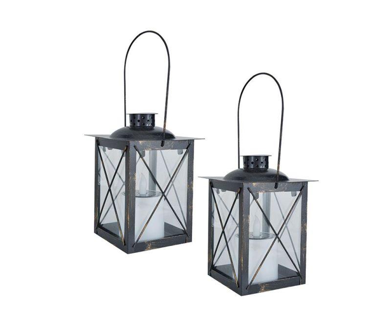 Sada 2 solárních lamp Shine