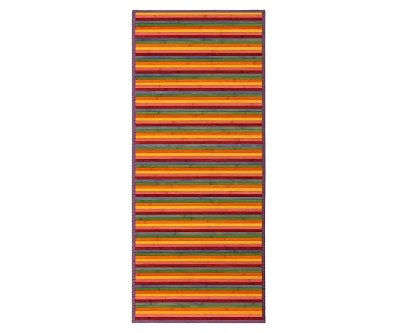 Covor tip pres Mimosa Multistripes 75x175