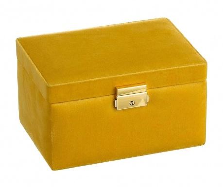 Škatla za nakit Erwin Yellow