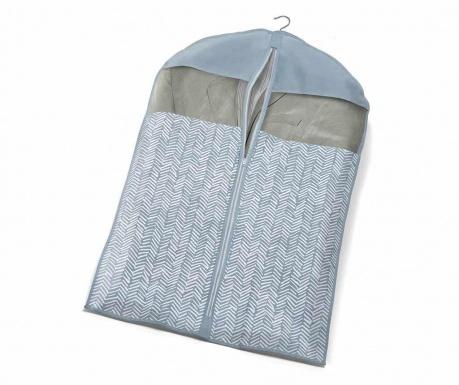 Obal na oblečení Tweed Azure S