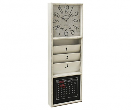 Стенен часовник Fabiana Cream