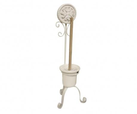 Perie de toaleta cu suport Medal Cream