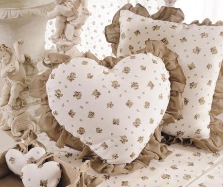 Perna decorativa Bon Jardin Heart 40x40 cm