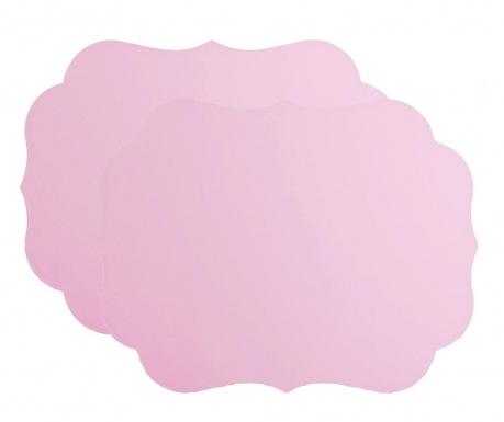 Set 2 individualuri Romantic Pink 33.5x43.5 cm
