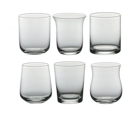 Set 6 čaša Diseguale 250 ml