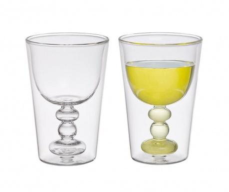 Комплект 2 чаши за вино Borosilicate 200 мл