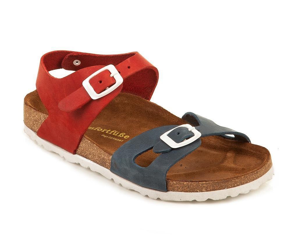 Otroški sandali Bady Navy Red 28