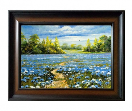 Tablou Blue Flowers
