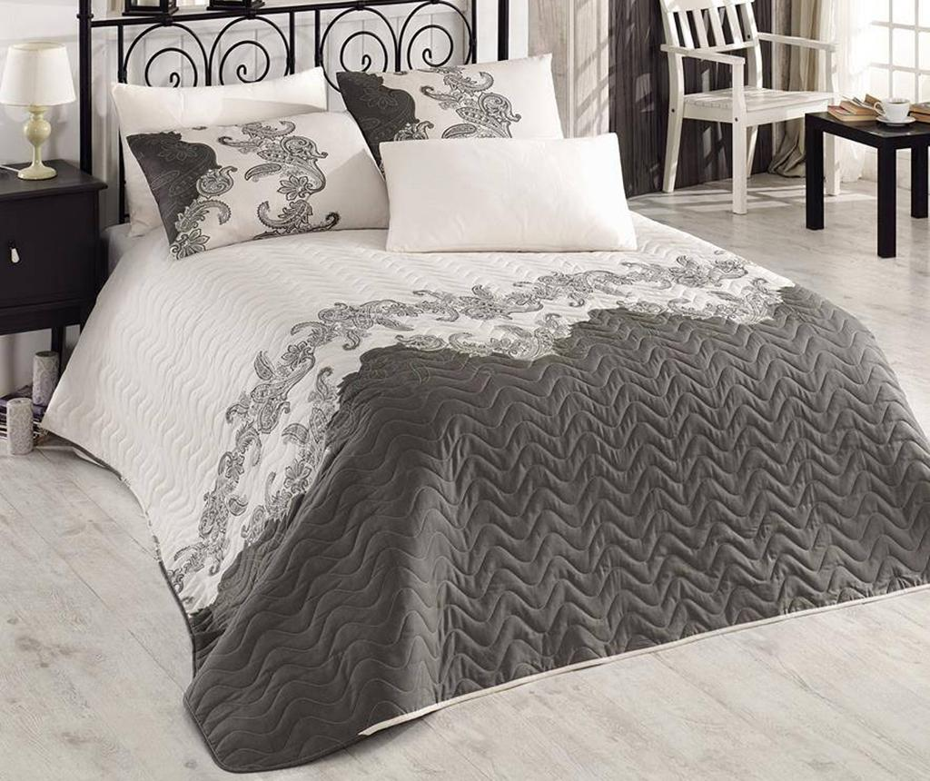 Cuvertura matlasata Mix Scarlet Beige 200x250 cm - Eponj Home, Crem