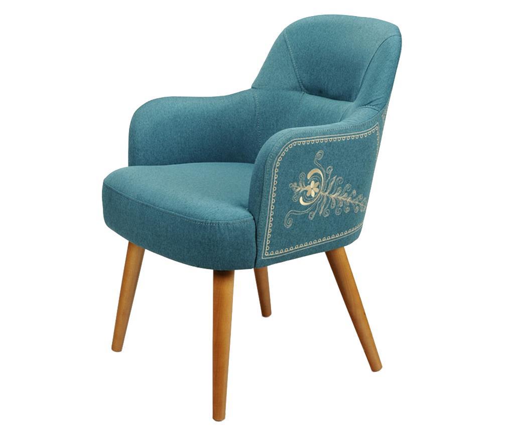 Scaun Albastru Clasic - 18175