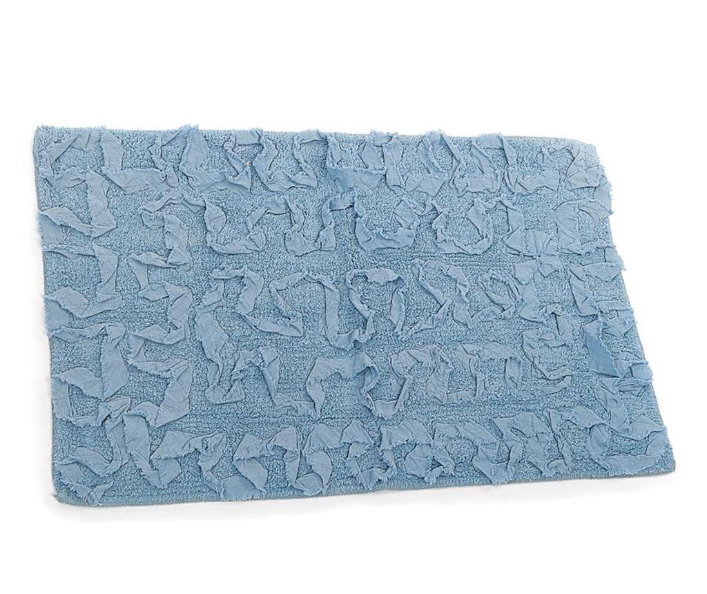 Covoras de baie Sahara Blue 50×80 cm