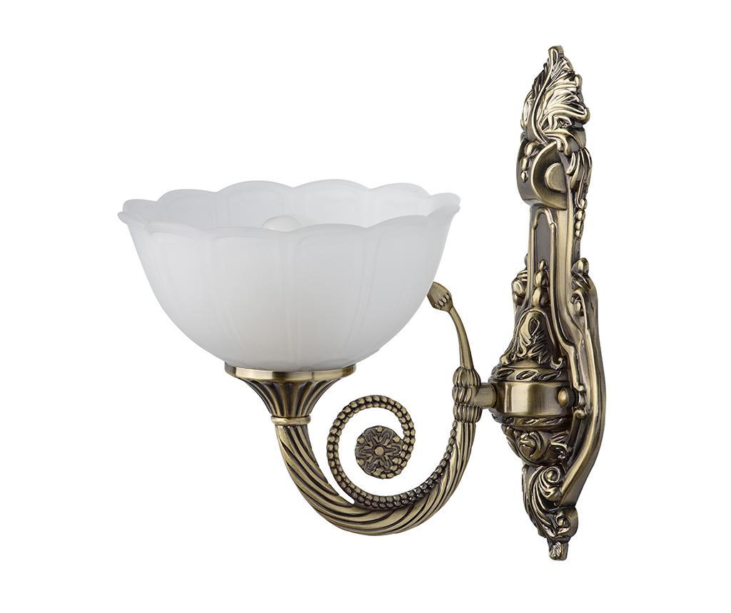Aplica de perete Athena One - Classic Lighting, Galben & Auriu