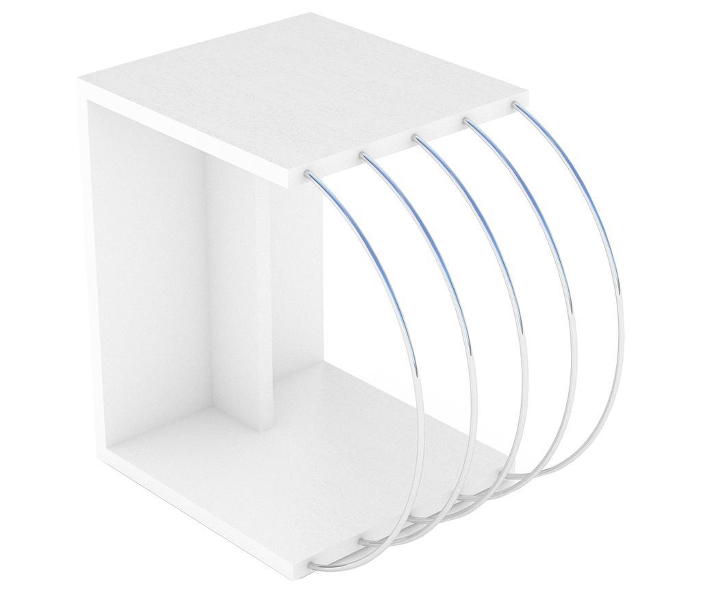 Masuta Case White Chrome - Rafevi, Alb imagine 2021