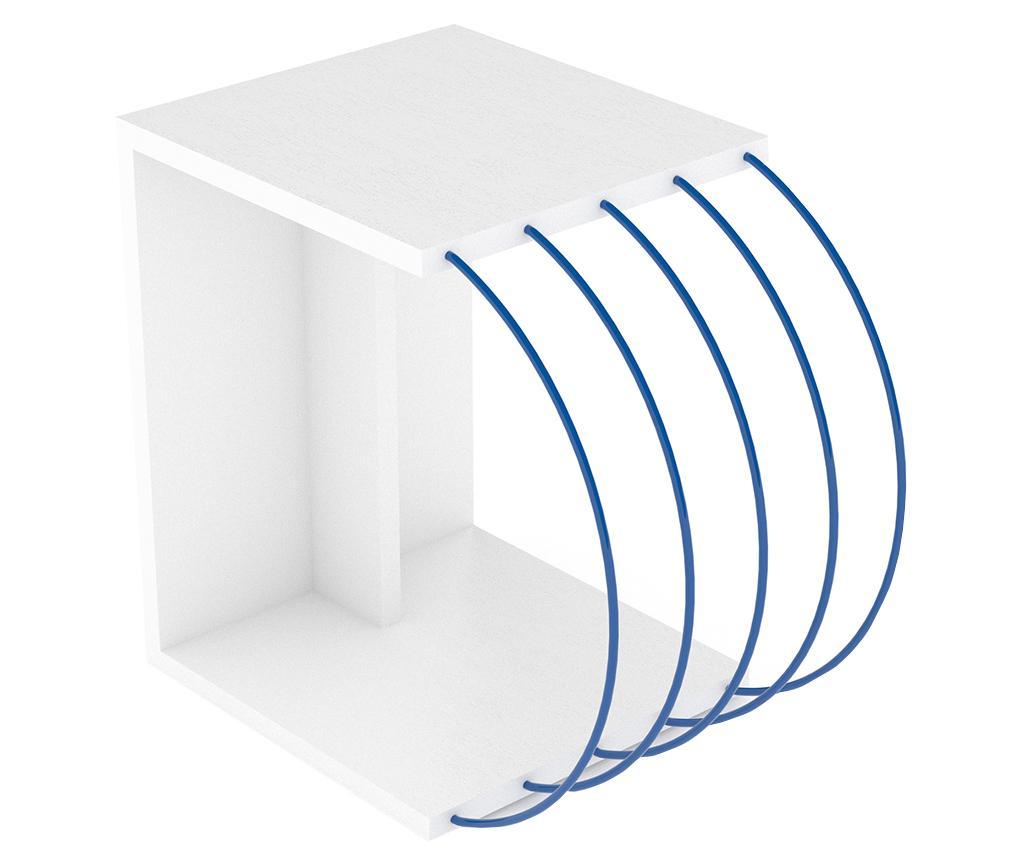 Masuta Case White Blue - Rafevi, Alb