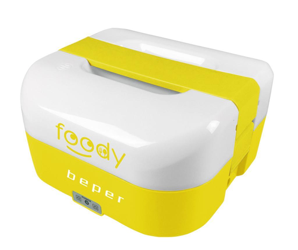 Cutie electrica pentru pranz Foody Yellow 1.6 L - Beper, Galben & Auriu