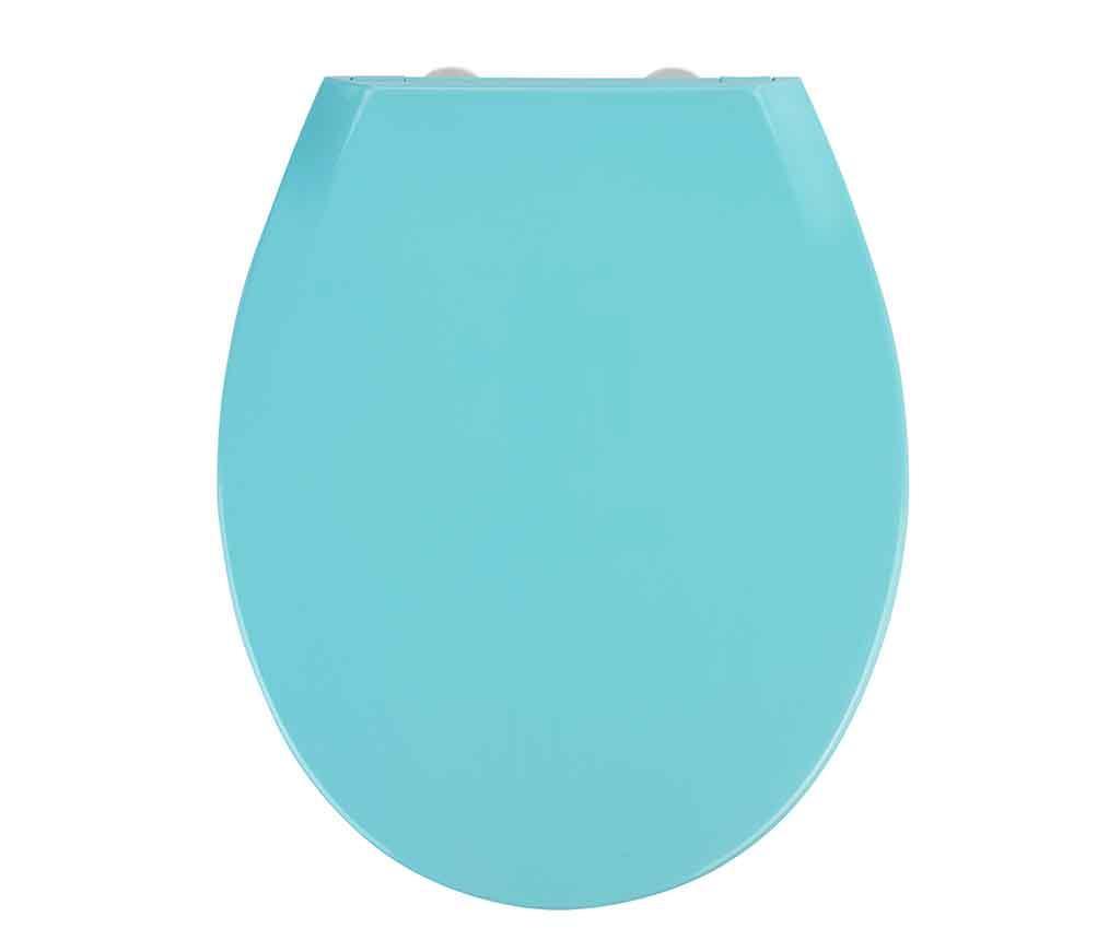 Capac pentru toaleta Kos Blue - Wenko, Albastru