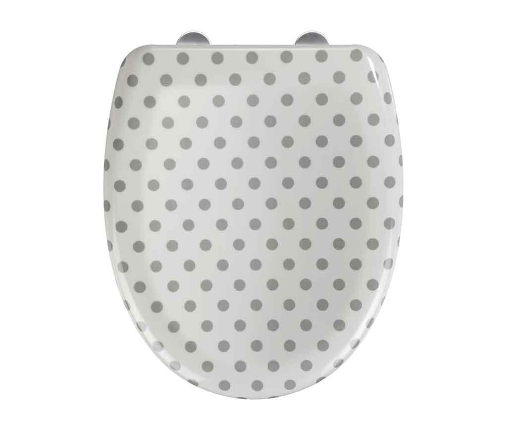 Capac pentru toaleta Punto White - Wenko, Alb