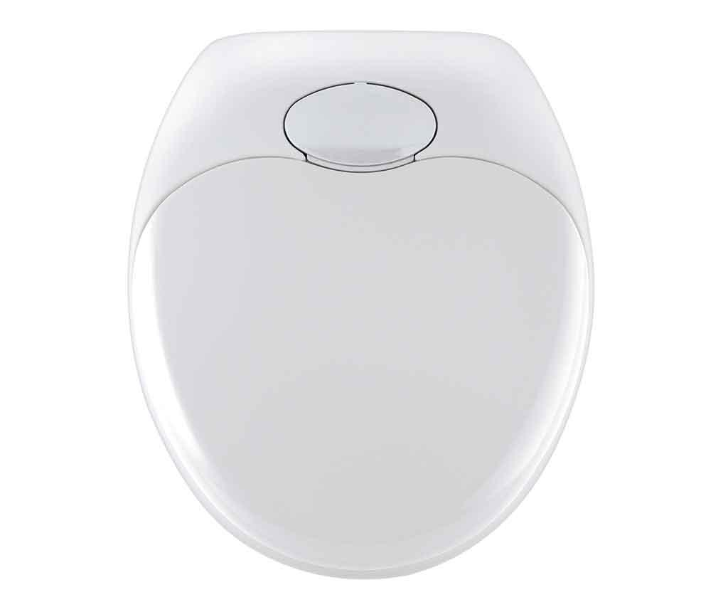 Capac pentru toaleta Family Easy - Wenko, Alb