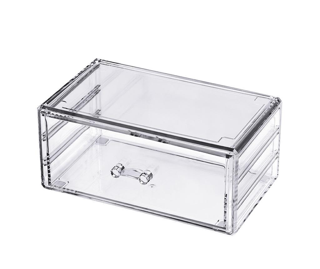 Cutie pentru bijuterii Brianna - Compactor, Alb