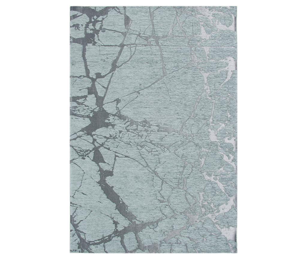 Covor Broken Aqua 80x300 cm - Eko Halı, Multicolor