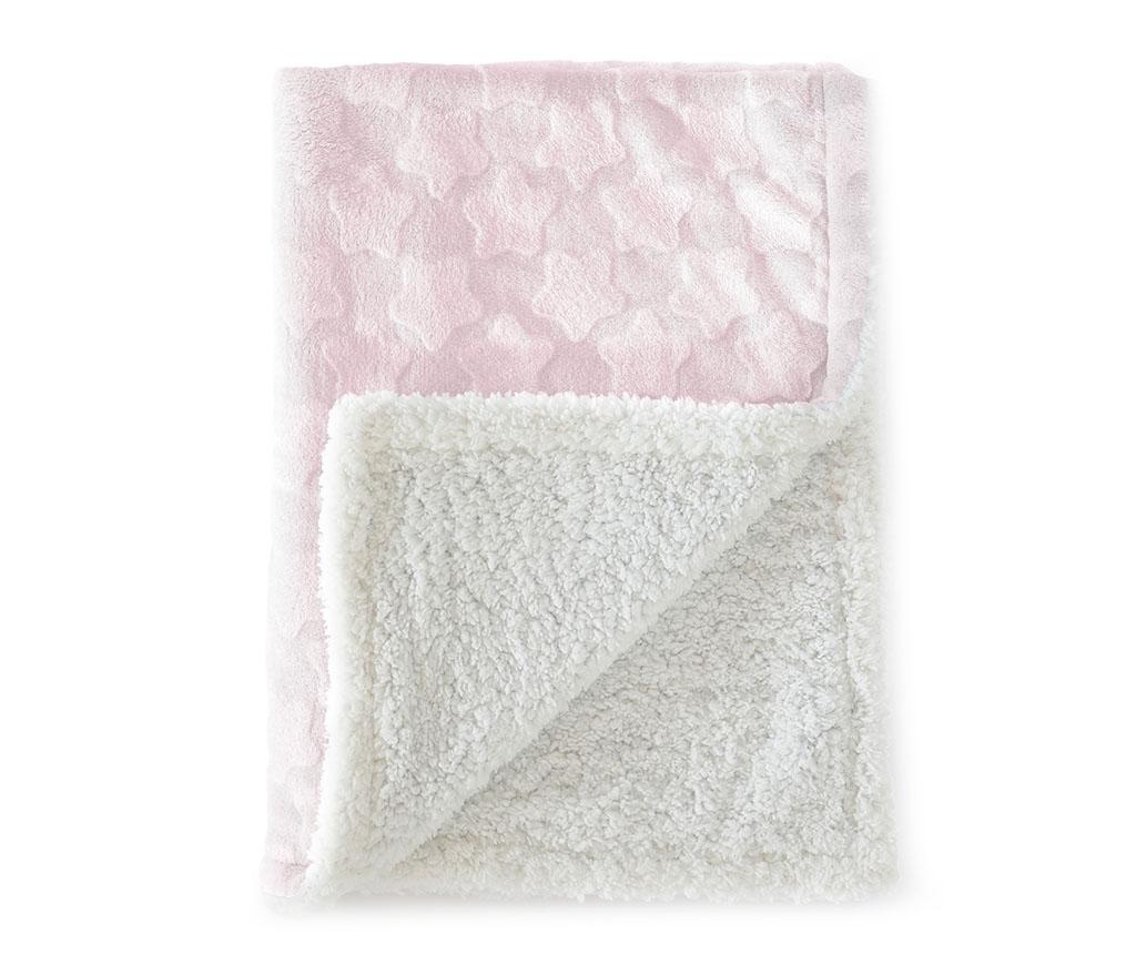 Pokrivač Estrellas Pink 110x140 cm