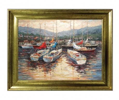 Boats Kép 40x50 cm