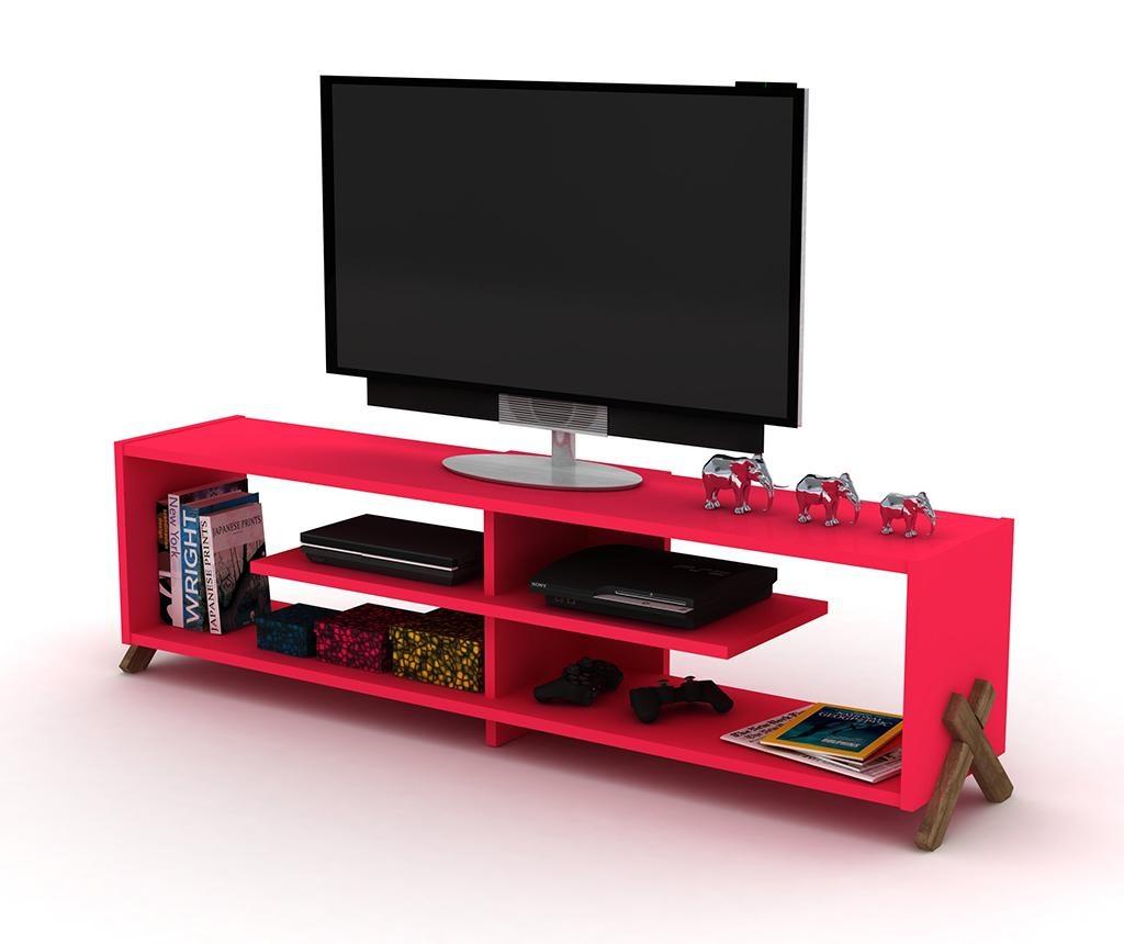 Комода TV Kipp Walnut Pink