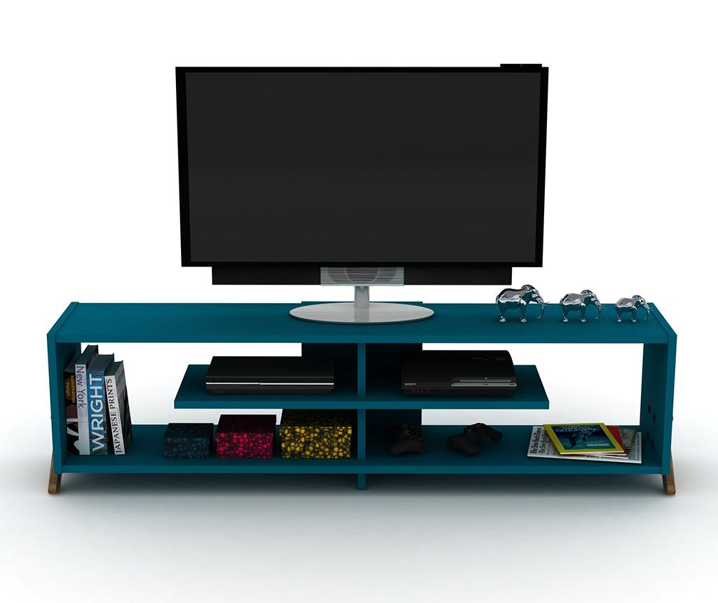 Комода TV Kipp Walnut Blue
