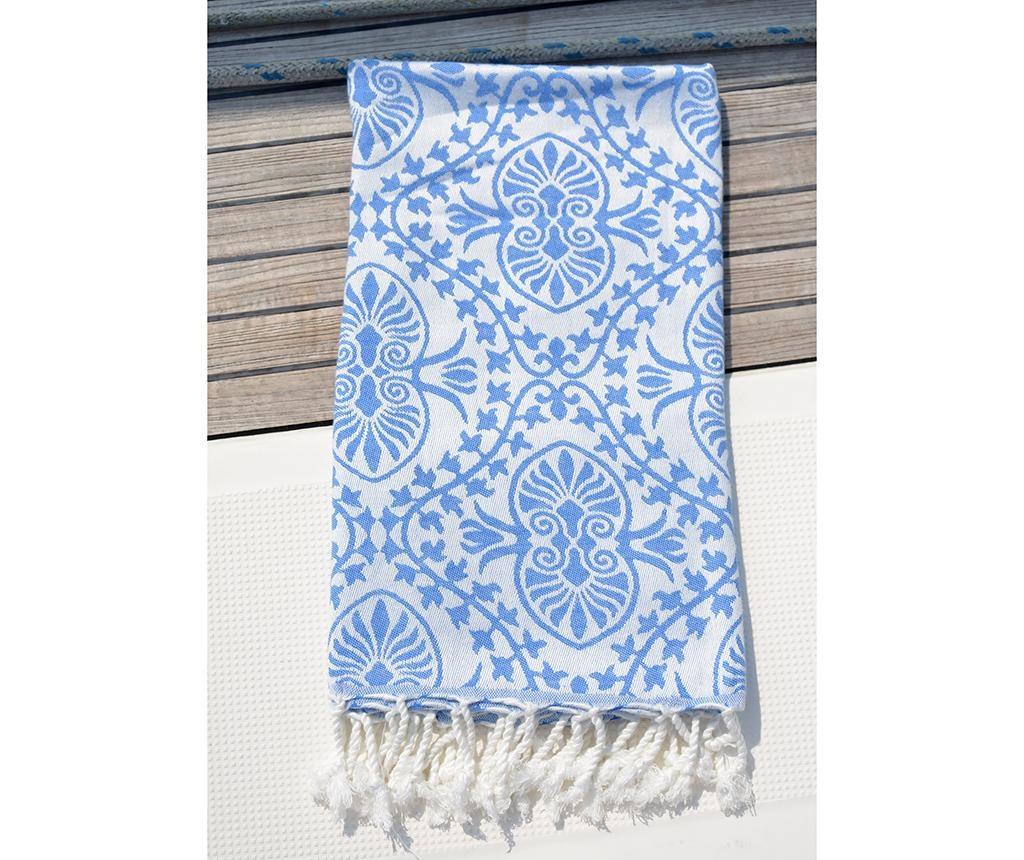 Kupaonski ručnik Pestemal Bianca Soft Blue 100x165 cm