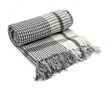 Priročna odeja Naffo Grey 125x150 cm