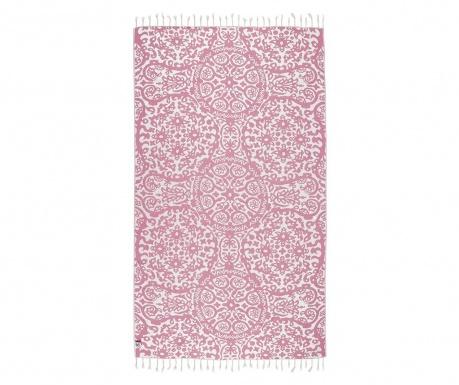 Kopalniška brisača Peshtemal Camelia Pink 100x165 cm