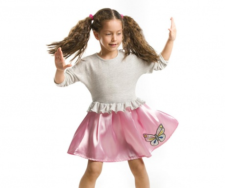 Otroška obleka Silver Butterfly 4 let