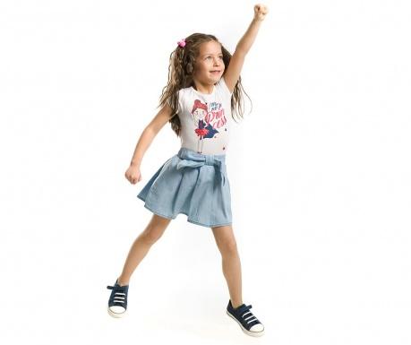 375f140542f Σετ παιδικό κορμάκι και φούστα Bold Girl 4 ετών - Vivre.gr
