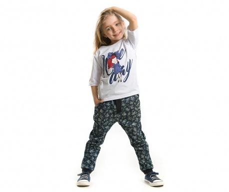 Set tricou si pantaloni pentru copii Nice Day