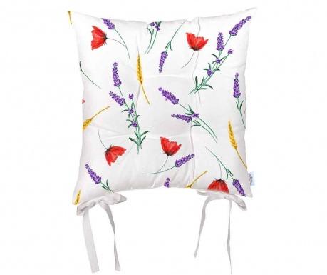 Vankúš na sedenie Sunny Flowers 43x43 cm