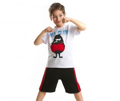 Sada detské tričko a krátke nohavice Boxer Monster