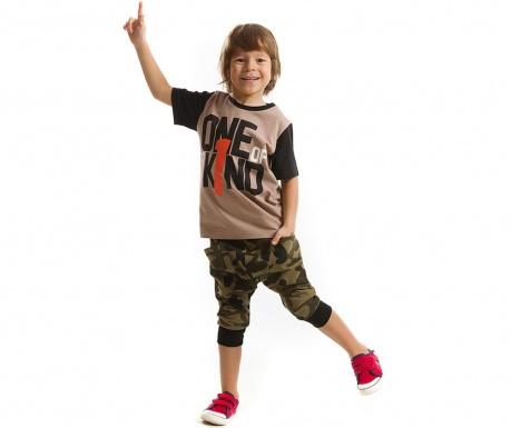 Set tricou si pantaloni trei sferturi pentru copii One Kind Baggy