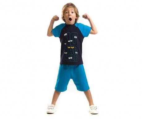 Set tricou si pantaloni scurti pentru copii No Nap