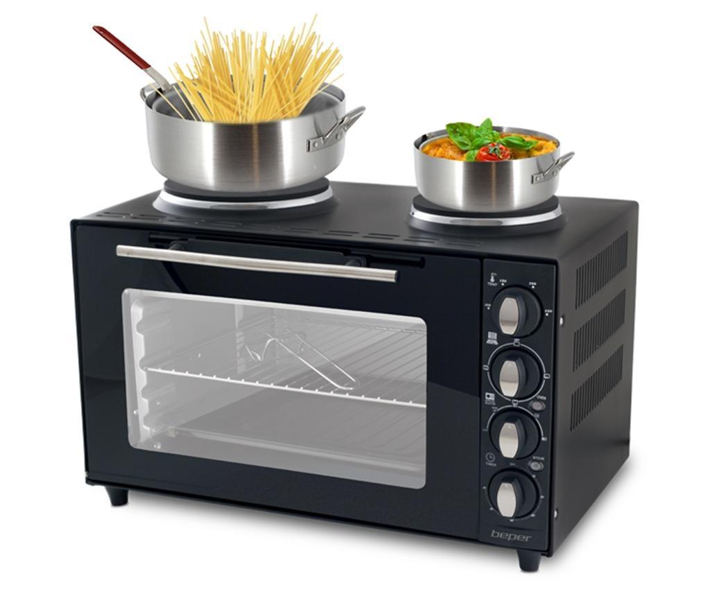Cameo Elektromos sütő dupla főzőlappal 36 L