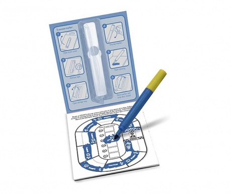Set bilježnica za bojenje sa aktivnostima i marker Racing