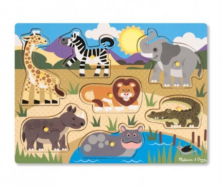 Igra tipa slagalice 8 dijelova Safari