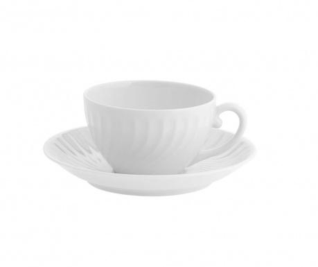 Комплект чашка и чинийка за чай Sagres Soft