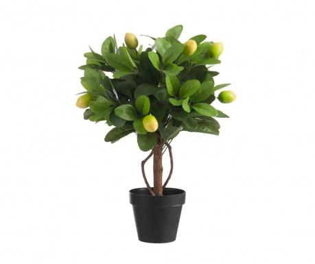 Изкуствено растение в саксия Lemon Tree