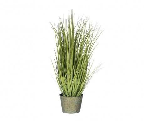 Изкуствено растение в саксия Fresh Grass