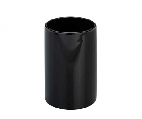 Kubek łazienkowy Polaris Black