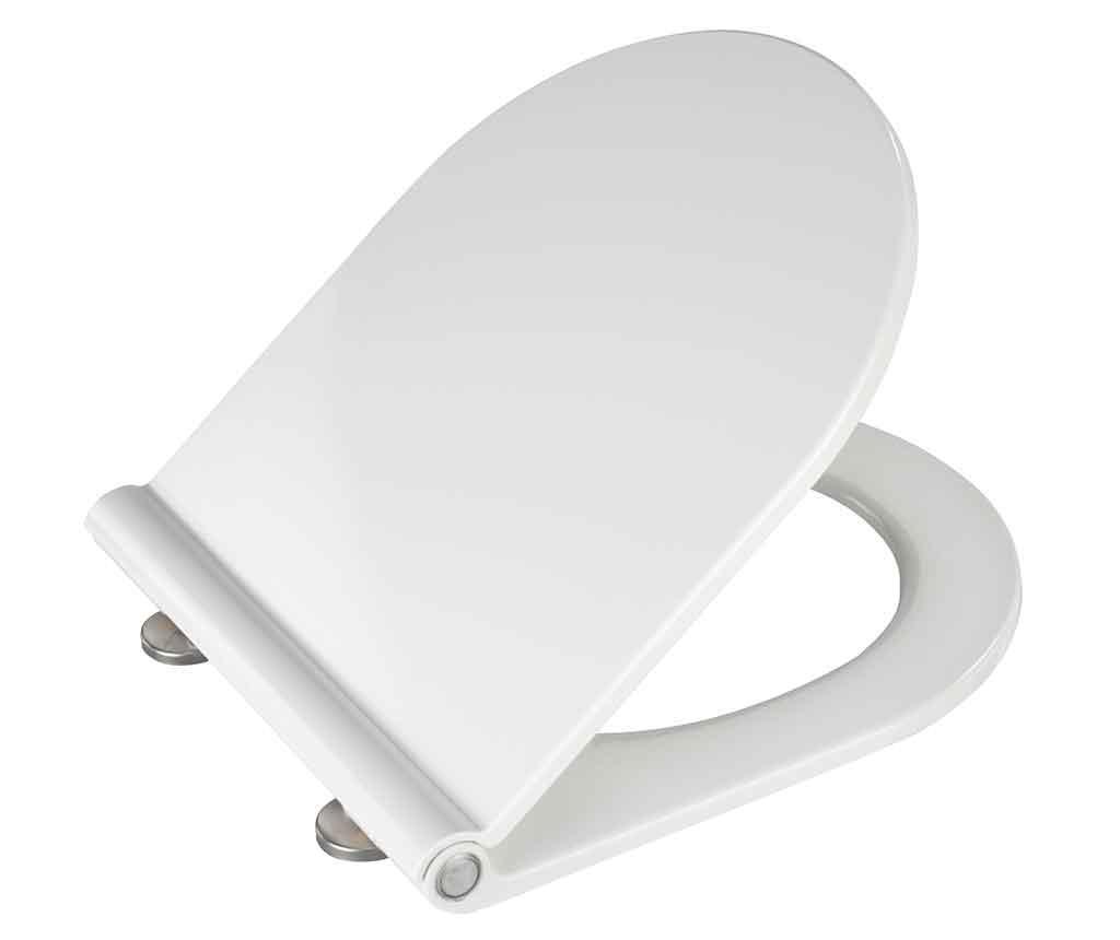 Capac pentru toaleta Premium White