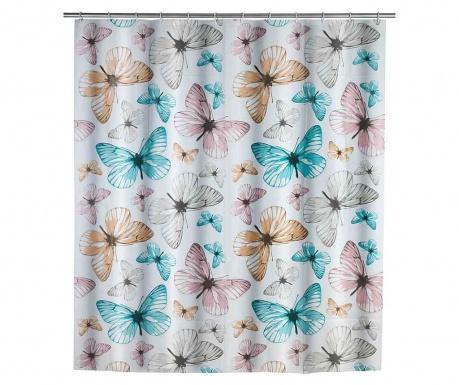 Zasłona prysznicowa Butterfly 180x200 cm