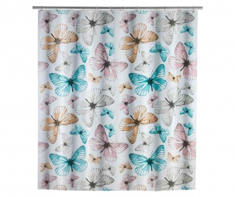 Sprchový záves Butterfly 180x200 cm